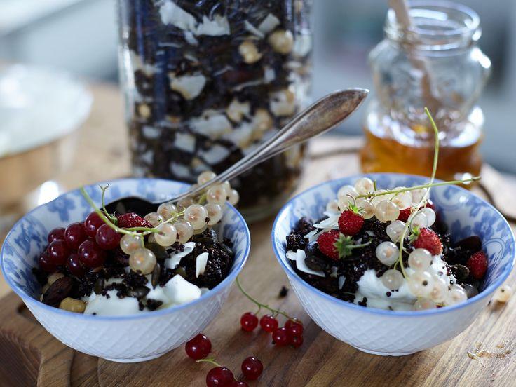Chokladgranola med quinoa | Recept från Köket.se