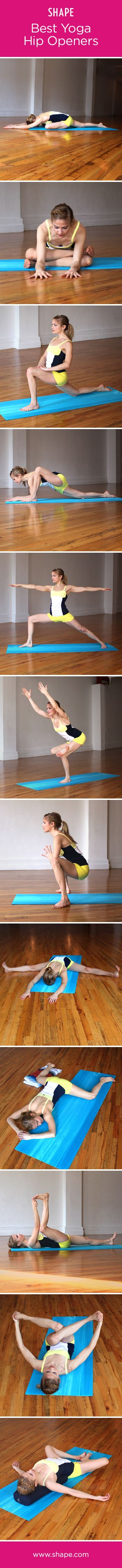 Try these hip openers from @Carol Castleman magazine