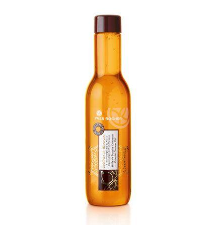Huile de douche orientale  L'huile d'Argan qui nourrit votre peau.     Enrichie en huile d'Argan du Maroc issue de l'agriculture biologique, traditionnellement reconnue pour ses vertus nourrissantes, la formule ambrée de cette huile de douche fond sur la peau en une mousse de lait délicate et l'enveloppe d'un voile doux, satiné et divinement parfumé.    Son + : sa formule soyeuse qui fond en une mousse de lait délicate sur la peau.