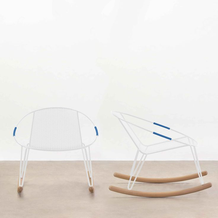 Volley Rocker designed by Adam Goodrum for a courtside view of a life outside