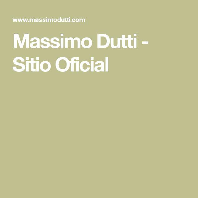 Massimo Dutti - Sitio Oficial
