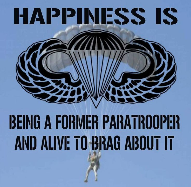 Funny Sayings About Army Airborne