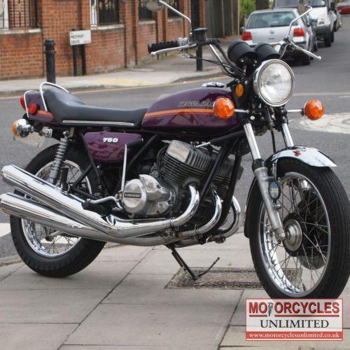 1973 Kawasaki H2A750 Classic Kawasaki Triple for Sale   Motorcycles Unlimited