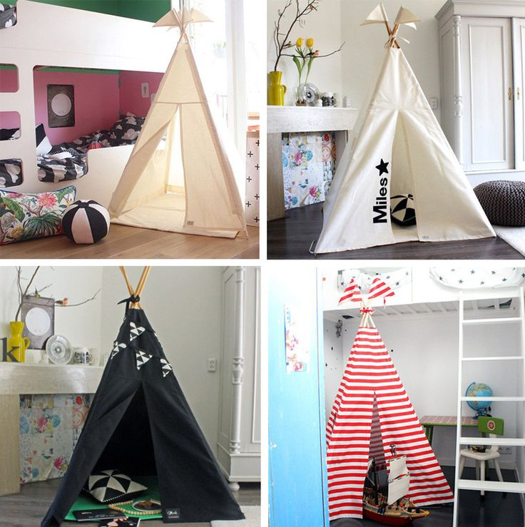 We give you the chance to win a teepee from Moozle for a value of 165 euros - Contest on Kids Interiors Instagram betwwen 11-25 November 2016