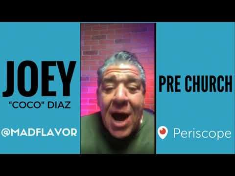 The Church Of What's Happening Now Pre Show: #522 - Joey Diaz and Lee Syatt
