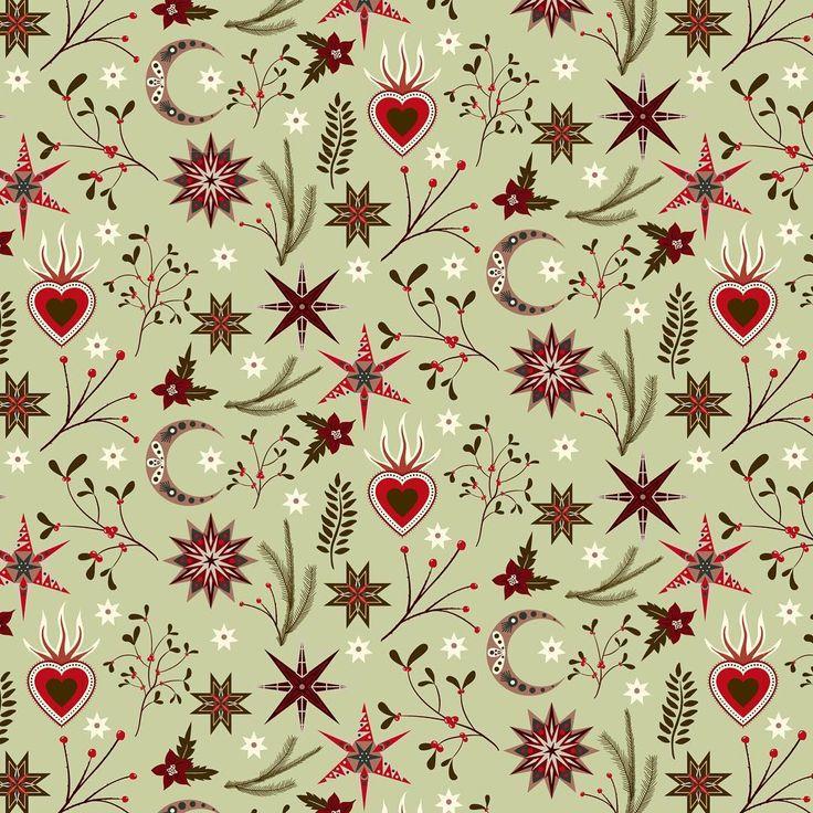 pattern design, illustration, wrapping paper, Eva Lechner