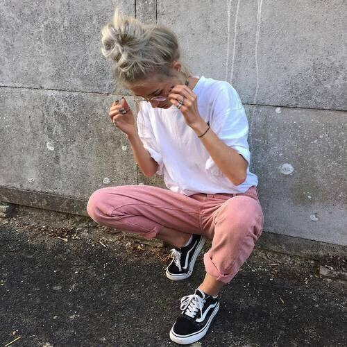 boho, bun, chic, clothes, clothing