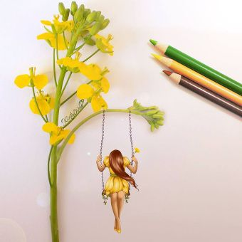 Desenhos criativos de Kristina Webb