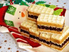 Mamina jela: Karamel - čokoladne oblatne