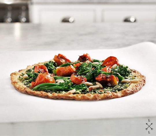 cauliflower pizza crust - grain free