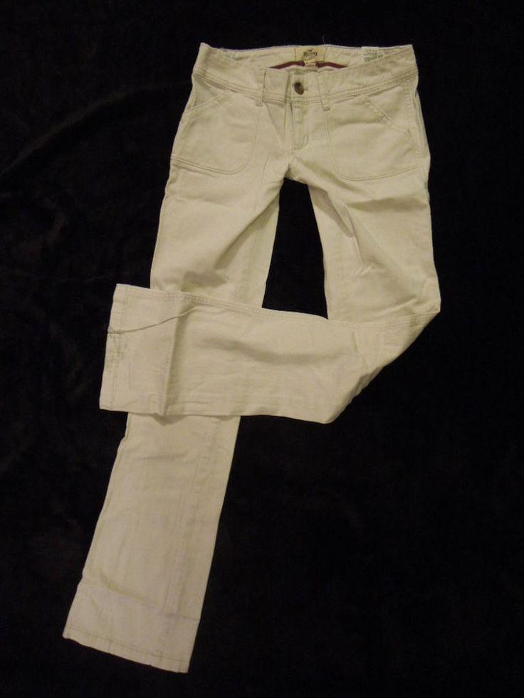 #Juniors Sz 0 #30X32 #Hollister #Socal #Stretch #StraightLeg #Trouser #Pants #Jeans #Khaki #Taupe #SuperLowRise #ButtEnhancing