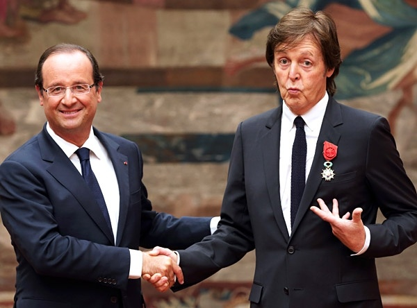 Paul McCartney Awarded French Legion of Honour | Music News | Rolling Stone