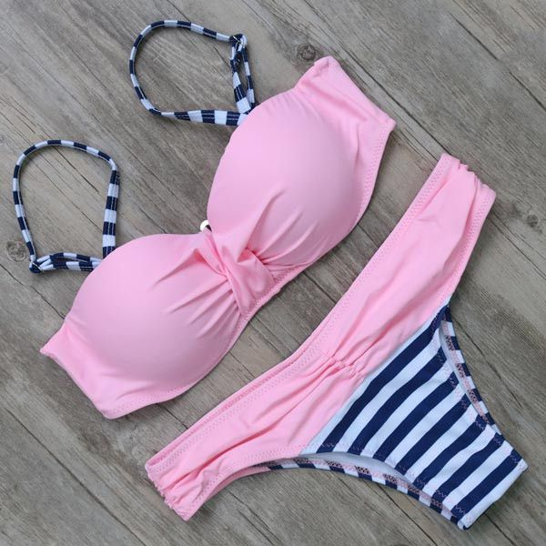 Swimwear Swimsuit Women Bikini Push Up Bikini Set Sexy Bandage Brazilian Bikinis Biquini Bathing Suit