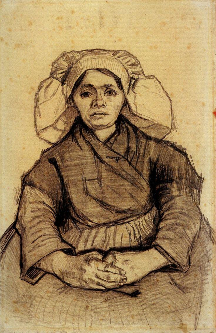 Seated Woman, 1885  Vincent van Gogh