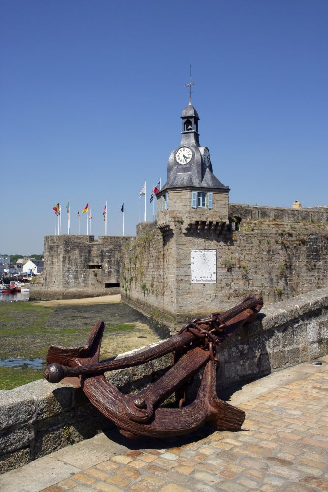 Concarneau (Bretagne), France