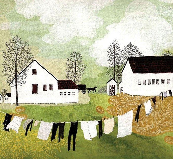 Amish Clothesline. $20.00, via Etsy.