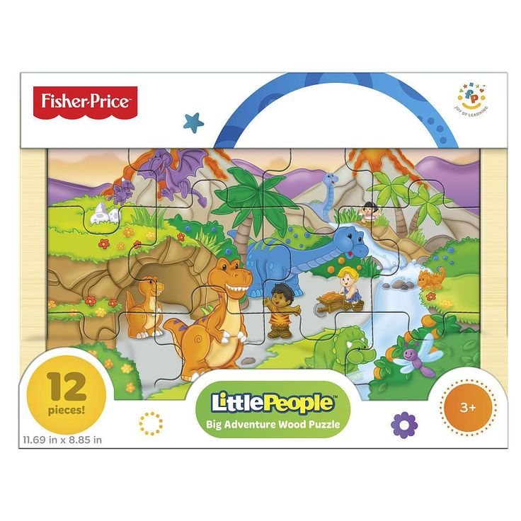 LITTLE PEOPLE BIG ADVENTURE WOOD PUZZLES. ENHANCE THINKING AND PROBLEM SOLVING SKILLS FINE MOTOR SKILLS AND SPARK IMAGINATION AND CREATIVITY.  Picked at random.
