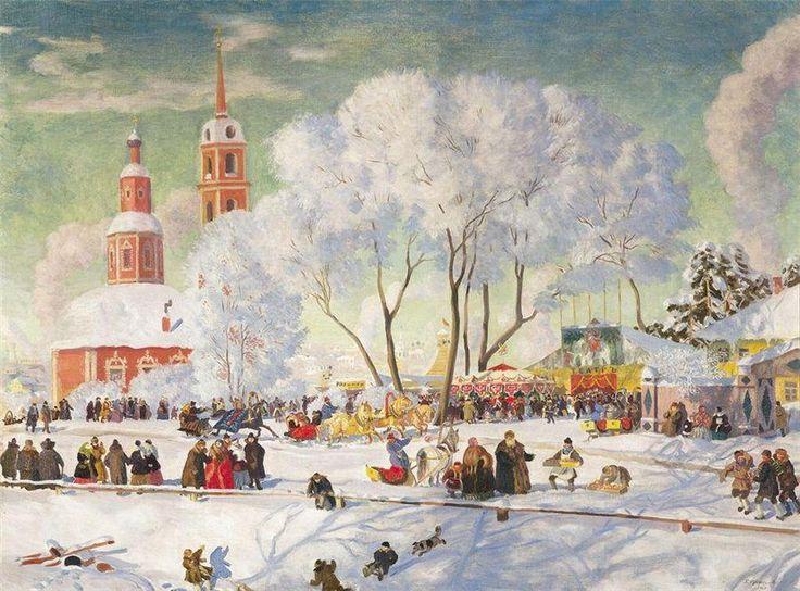 Борис Кустодиев - Масленица