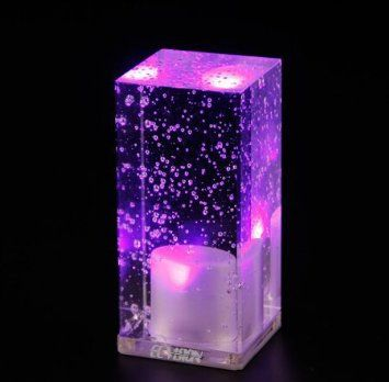 ECVISION Rechargeable LED Table Lamp Mood Night Light Square ...