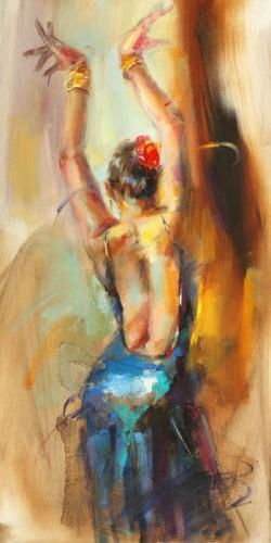Painted by Anna Razumovskaya.. this woman, I love her. Nobody paints quite like…