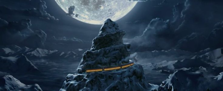 The Polar Express movie. 40 mins