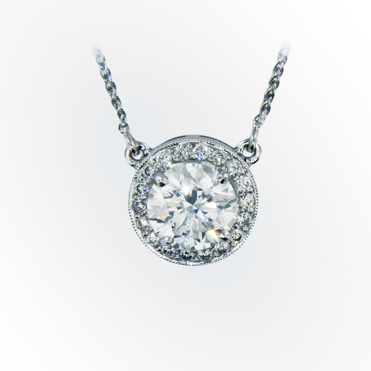 Diamond pendant. Diamonds In Style. See more... Loving this very much!
