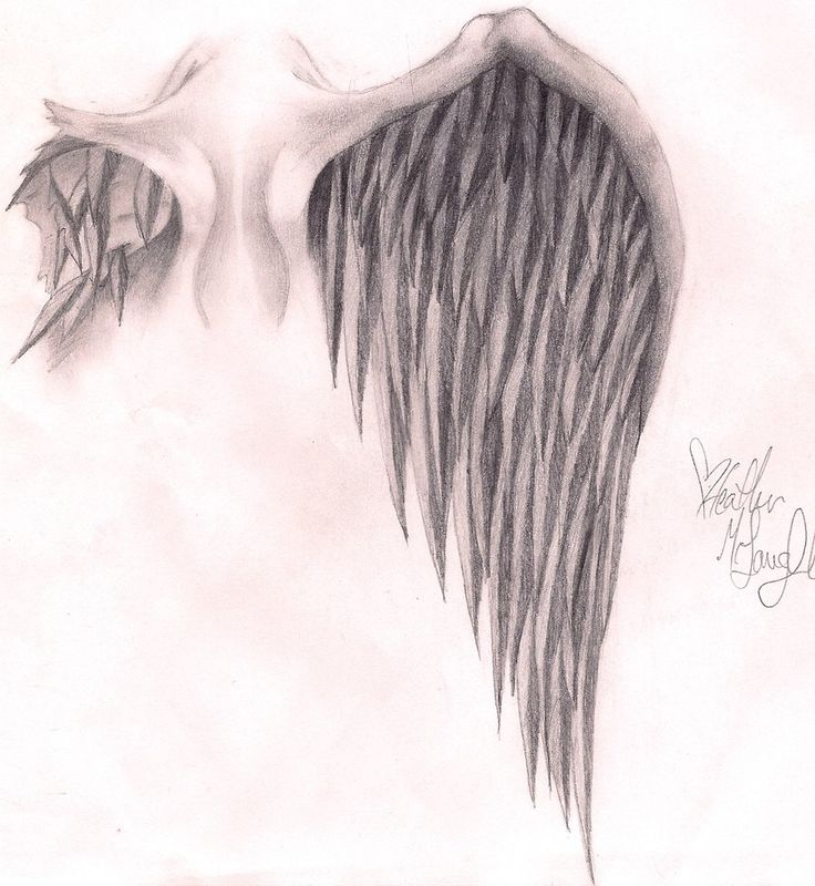 Images For > Broken Wings Tattoo