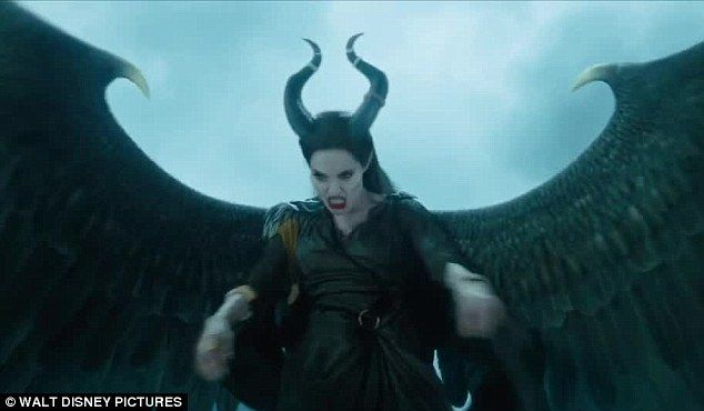 Maleficent with wings