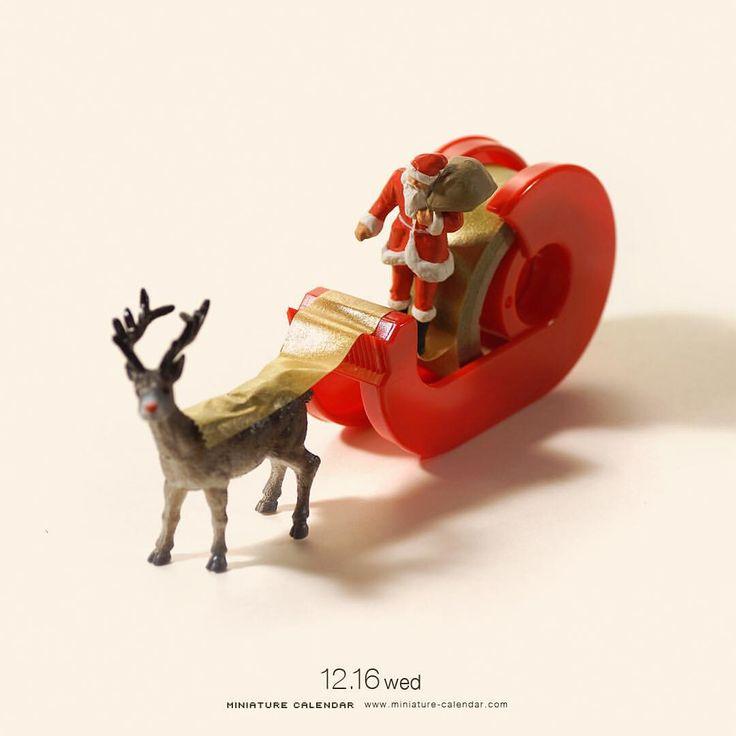 """. 12.16 wed """"Santa claus sled"""" . 切っても切れない仲 . #もうすぐクリスマス ーーーーーーーーーー 昨夜のNEWS ZEROの放送観ていただいた皆さん、ありがとうございましたいつもあんな感じで撮影していますこれからも毎日作品を更新しますので、ご期待ください! ."""