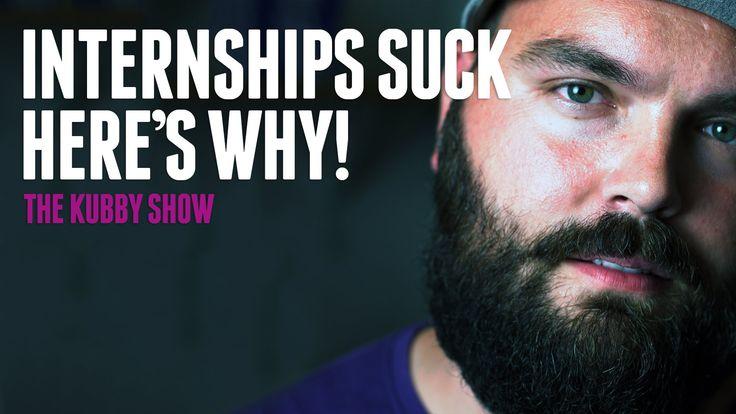 Internships suck, here's why!