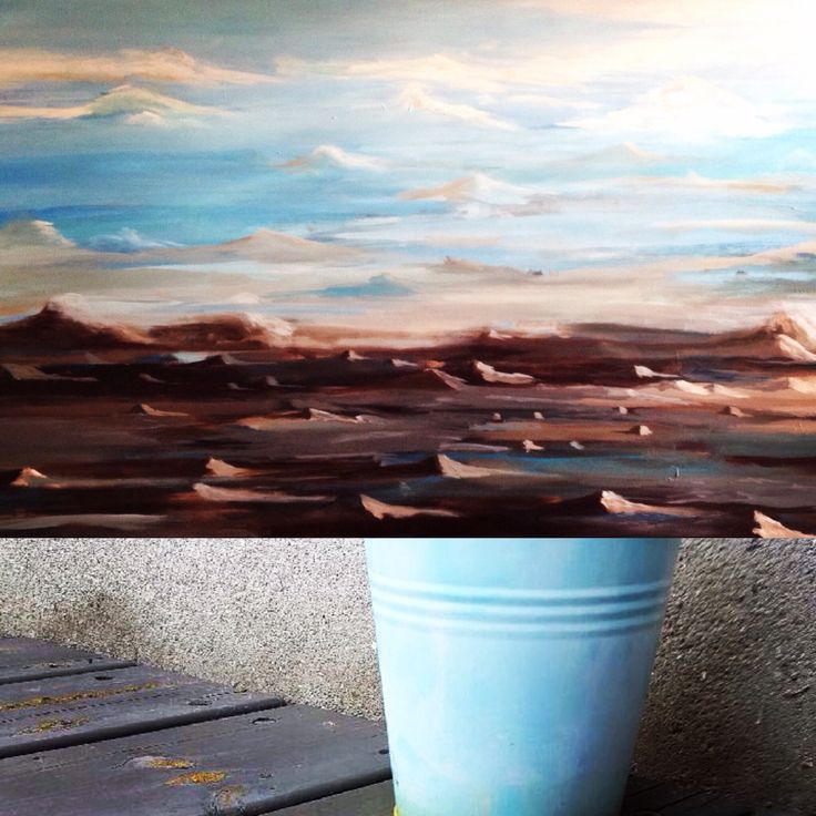 Painting by Aharkes. Acrylic and oil on canvas. 120x90 cm. #aharkes #annemetteharkes #artwork #artoftheday #art #painting #gallery #maleri #maleriertilsalg