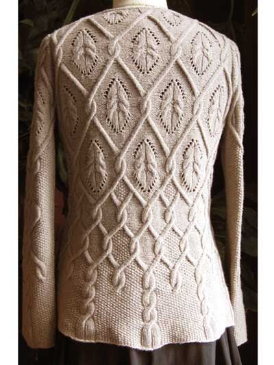 Tapestry Knit Pattern- would be great for fall
