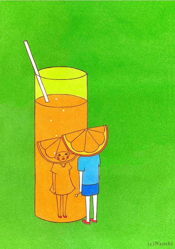 Orange Juice -100% Pure Love- // SUNAE Artist Naoshi
