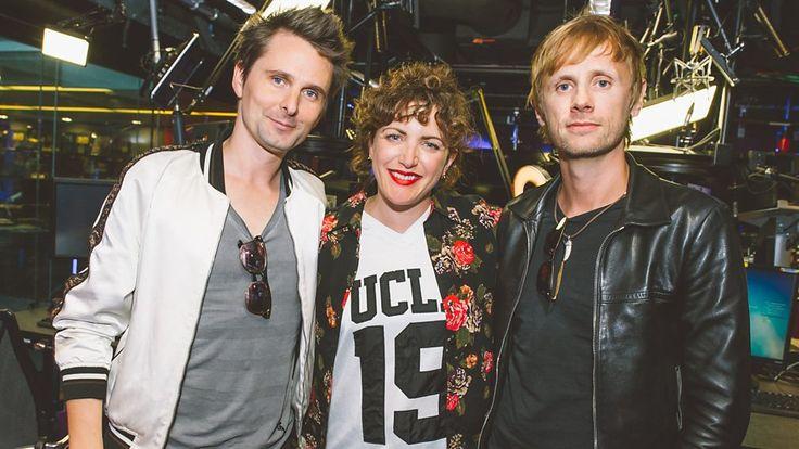 Matt Bellamy and Dom Howard - BBC Radio 1 - Annie Mac