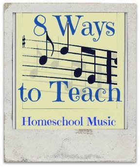 teaching music Source  http://www.quickstarthomeschool.com/2013/11/quick-ideas-for-music-class/
