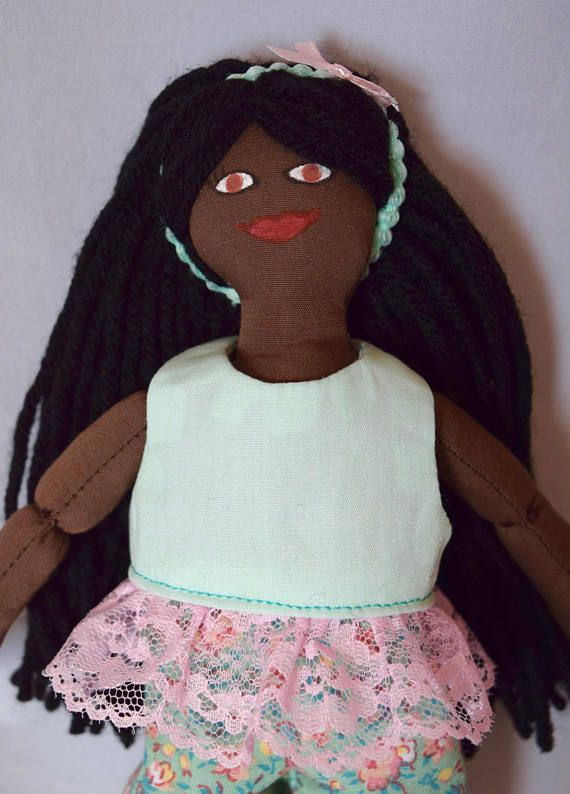 African American Girl Doll  Toy Dress Up Doll  For Kids