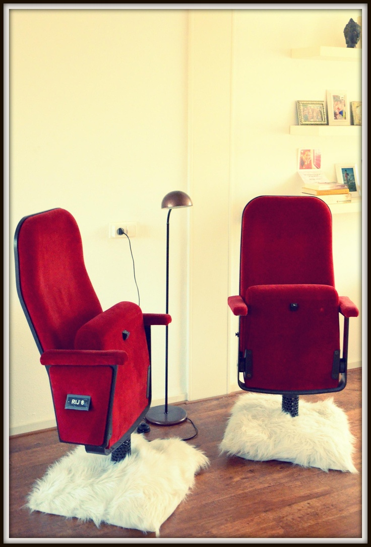 vintage cinema chairs: Movie