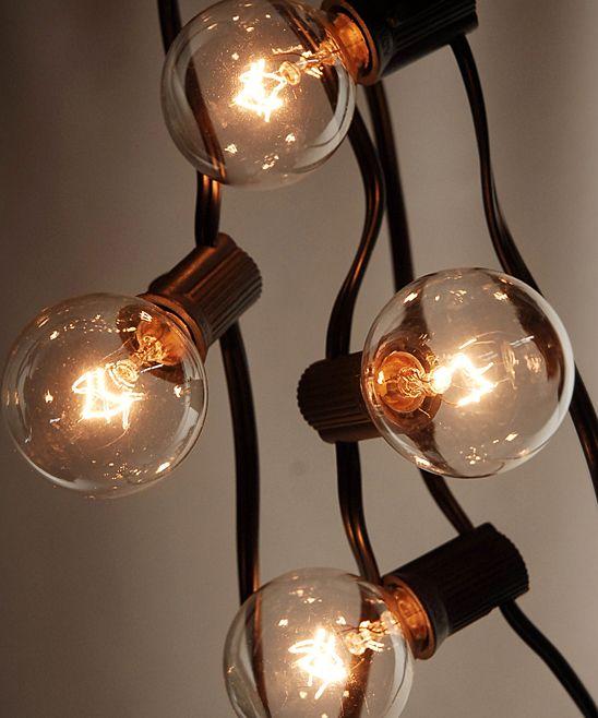 Black Wire 28 Globe String Lights Srat House Living Pinterest Lighting, String lights and ...