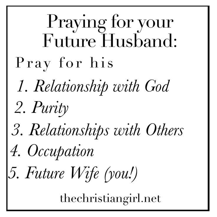 5 practical ways to pray for your future husband. #purity #futurehusband #prayer
