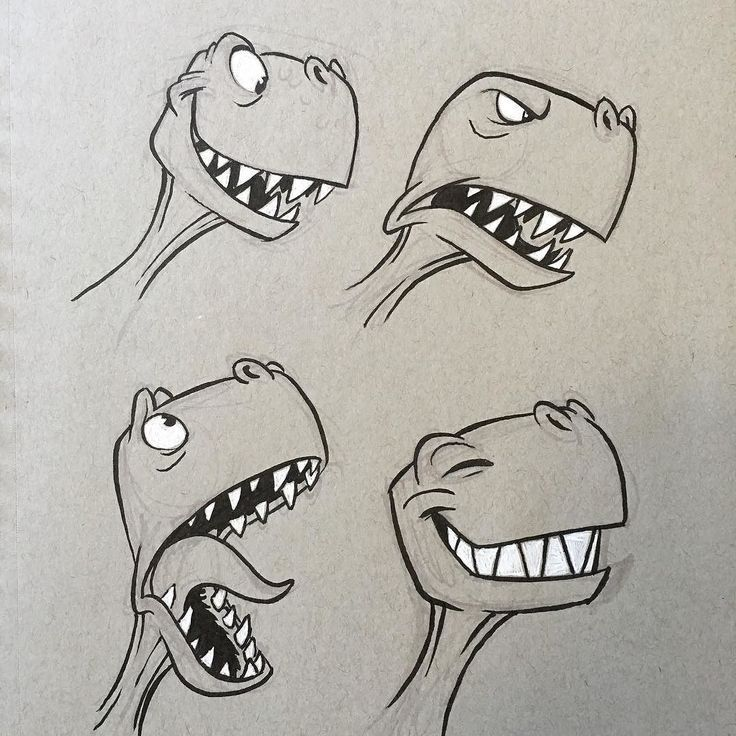 regram @ericscales13 #dino #dinosaur #trex #cartoo…