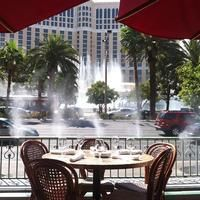 Mon Ami Gabi There's no better people watching any time of day than at Mon Ami Gabi in the Paris casino hotel—which feels as authentic as a faux Parisian bistro can at the foot of a replica Eiffel Tower. And although it seems that the Strip should be tailor-made for sidewalk, al fresco dining, this is one of the few options.