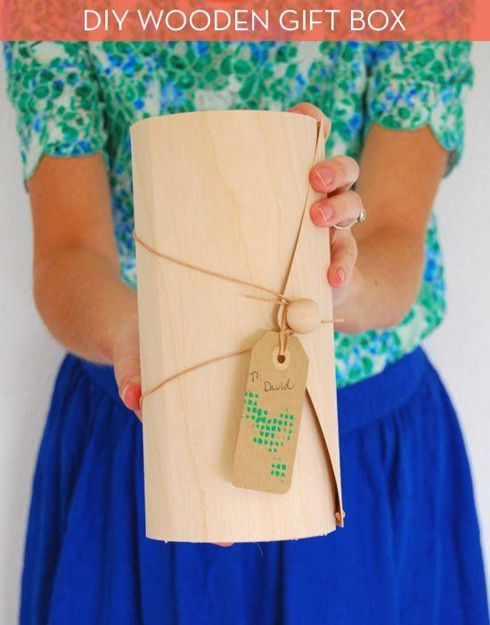 How to: Make an Easy and Elegant DIY Wood Veneer Box » Curbly | DIY Design Community
