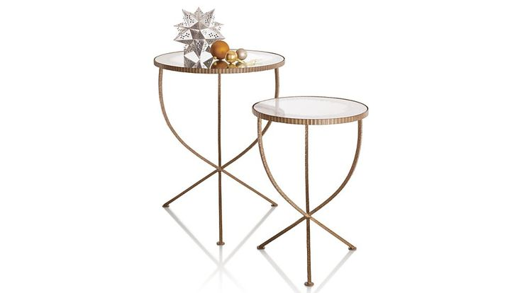 Jules Small Accent Table | Crate and Barrel
