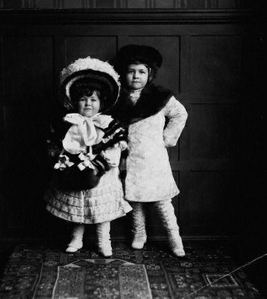 Cornelius Vanderbilt, Jr. and sister Gladys