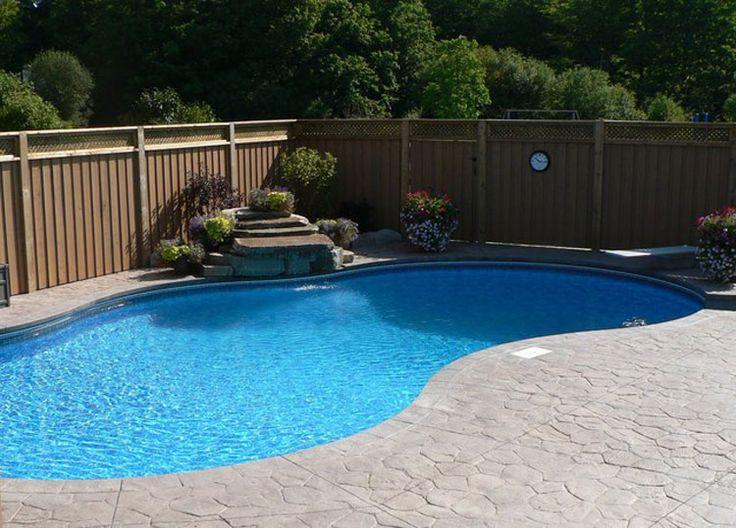 Oltre 25 fantastiche idee su piscine piccole su pinterest - Piscina interrata piccola ...
