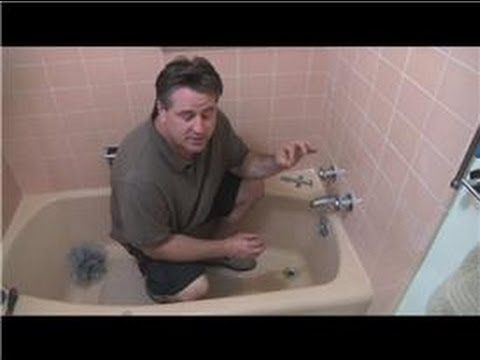 Bathroom Fix-It Tips : How to Repair a Leaking Bathtub - YouTube