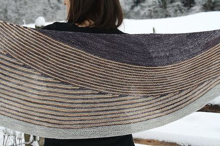 color affection shawl - i have the kit from the plucky knitter, now i just need the time.