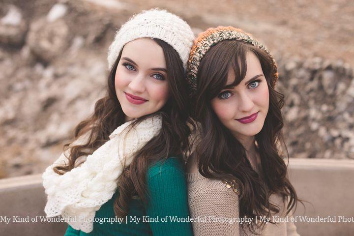 Utah Senior Photographer | My Kind of Wonderful Photography Senior Girl Session, Best Friends Session, Twin Session