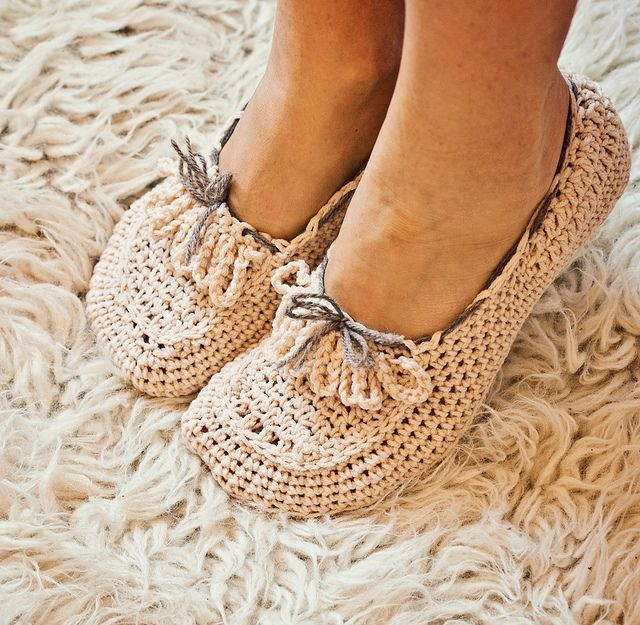 Crochet pattern - Ladies Loafers | Flickr: Intercambio de fotos