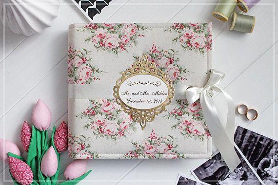 Wedding Photo Album Bridal Shower Guest Book Wedding